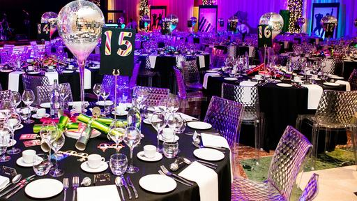 Glam Rock themed evening event