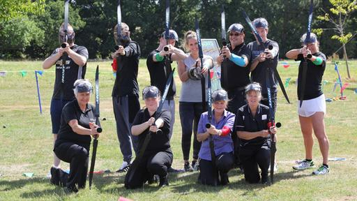 Hunger Games inspired team building event