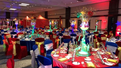Circus themed evening event
