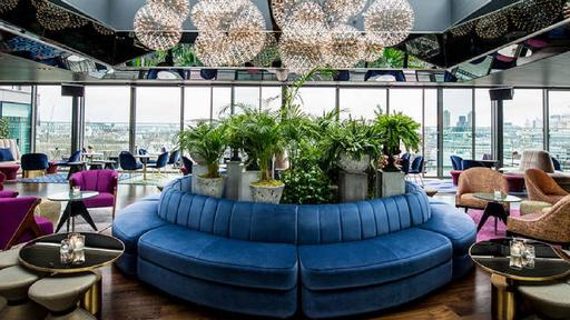 The Rumpus Room at the Mondrian London Hotel at Sea Containers