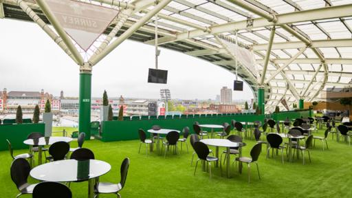 The Corinthian Roof Terrace at the Kia Oval