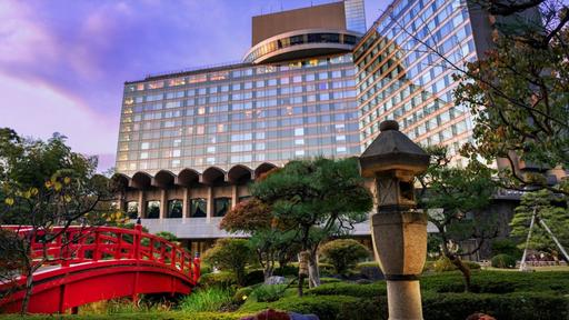 The stunning New Otani Hotel